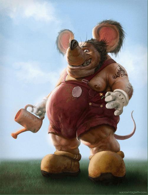 25张毁了我童年米老鼠回忆的照片