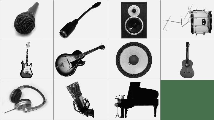 乐器音符笔刷