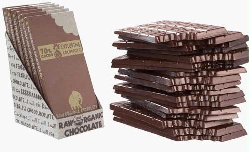 45个成熟的巧克力包装设计