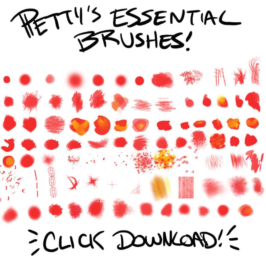 DIY绘制精品笔刷免费下载 极品笔刷 个性创作笔刷 DIY笔刷  photoshop brush
