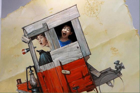 """10张来自于""""2012国际3D魔幻艺术中国杭州特别展""""的现场照片"""