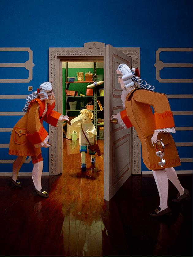 12张用纸片构造的纸艺术世界照片欣赏