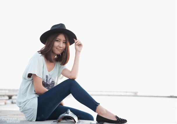 24张上海本地模特摄影秀