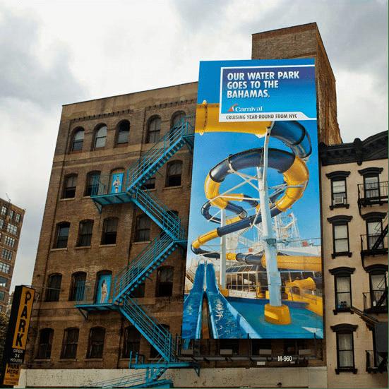 33个设计有趣幽默的户外广告设计实例
