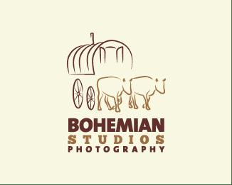 48个匠心独具的摄影logo标志设计参考