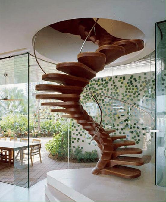 50张独特的创意楼梯设计图片