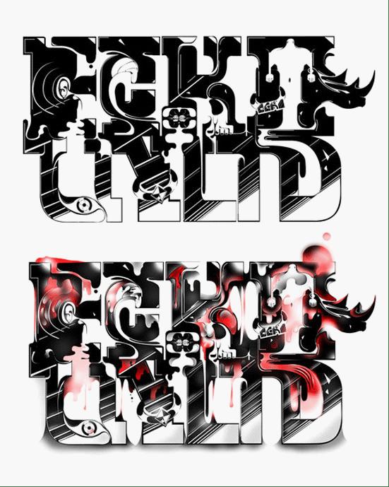 50个精美的文字排版设计艺术