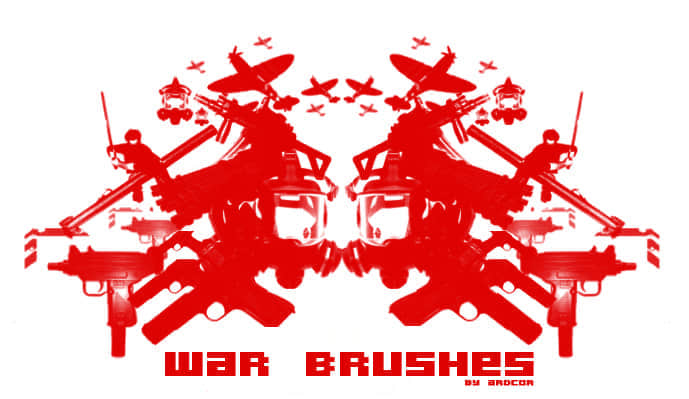 战争元素资源笔刷