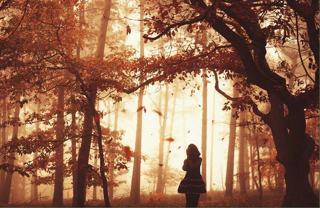 21张女孩的雨季天空梦幻摄影图集