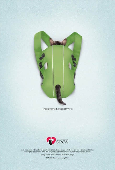 25个最新创意的平面广告设计