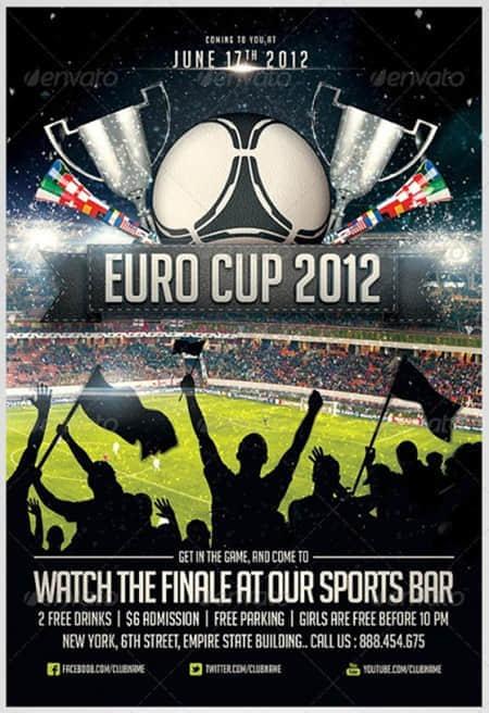 20张体育宣传海报设计实例参考
