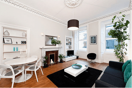 25张令人影响深刻的客厅与卧室装修设计实例