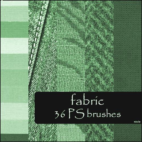 36种棉麻布匹纹理效果笔刷下载 麻布笔刷 纹理效果笔刷 棉麻笔刷 布匹笔刷  background brushes