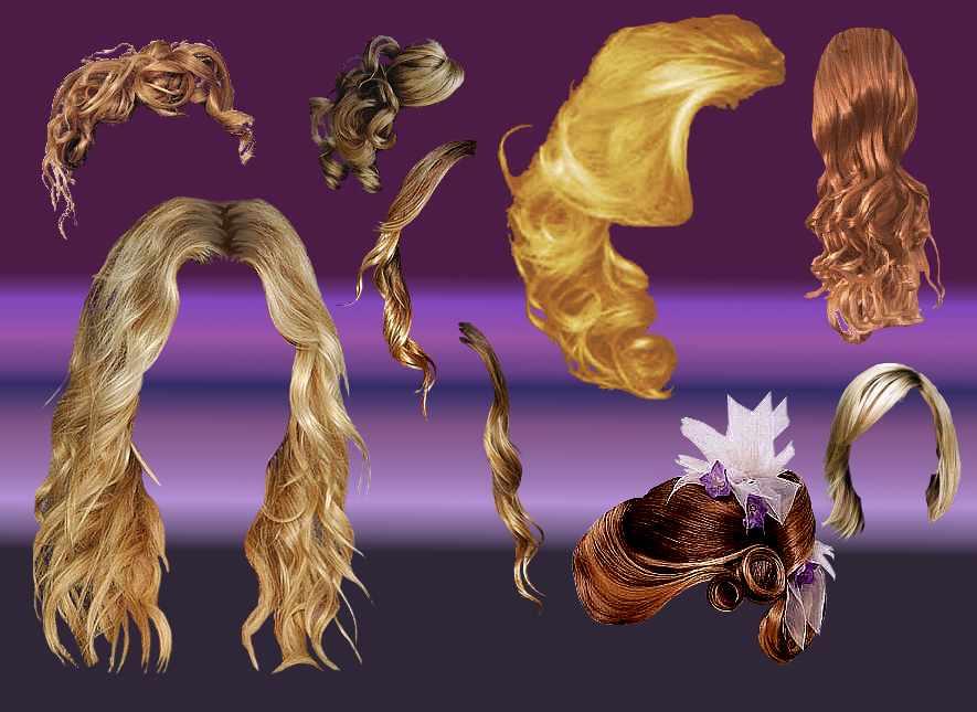 美丽的女式假发笔刷 女士发型笔刷 头发笔刷 假发笔刷 GIMP笔刷  %e6%af%9b%e5%8f%91%e7%ac%94%e5%88%b7
