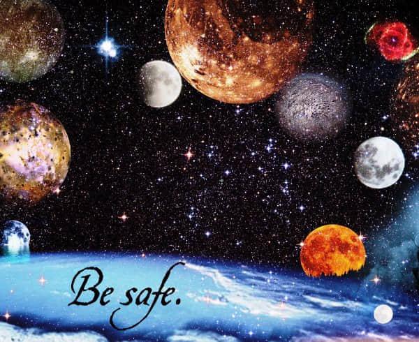 美丽宇宙星空星球笔刷