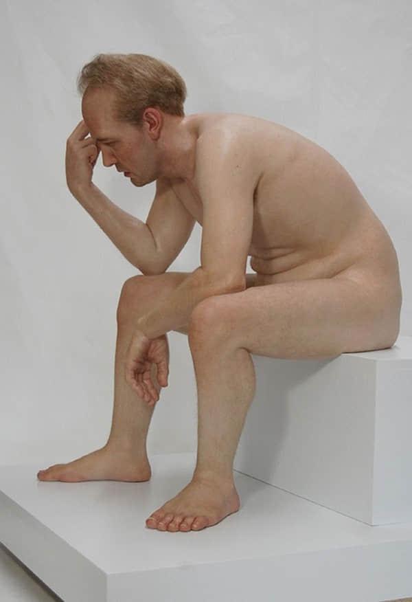 50张完美现实主义的仿真雕塑设计