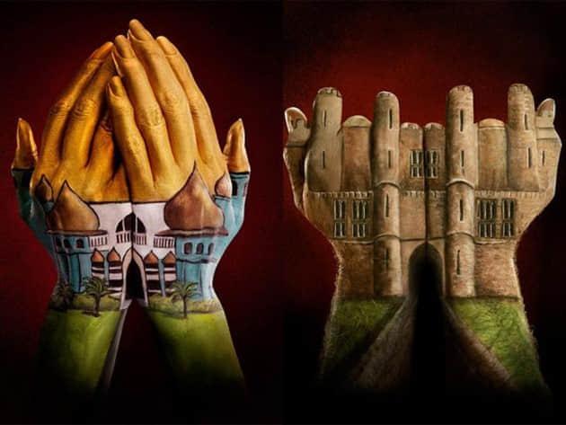 20个令人惊奇的手指手掌绘画艺术