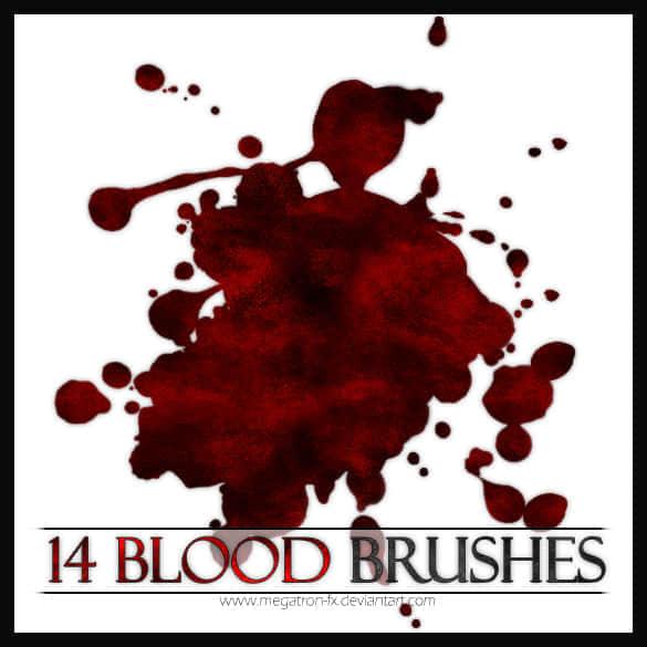 人体的血液笔刷