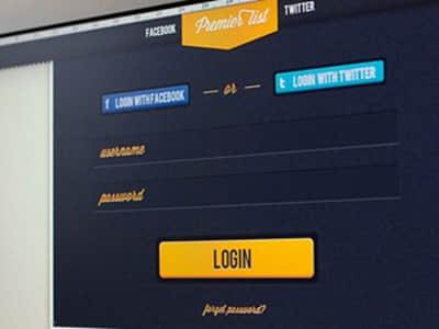 33种创意web表单登入框设计参考