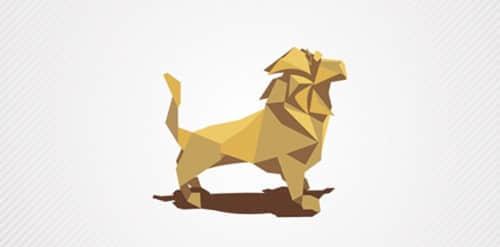 32这个折纸效果的各类Logo标志设计欣赏