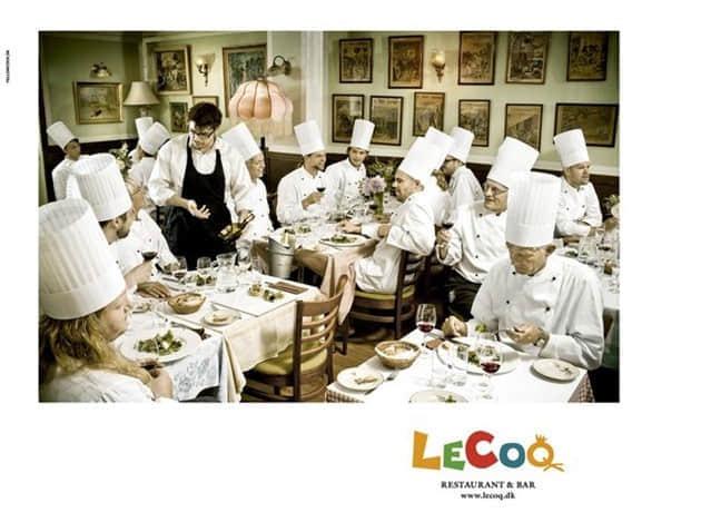 23个有趣的餐厅平面广告