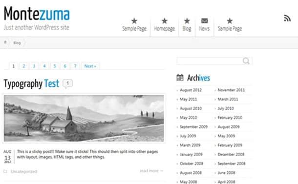 50个最新免费的高质量Wordpress主题下载 wordpress主题模版 wordpress  web psd