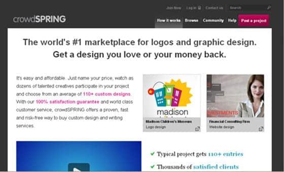 15个国外顶级的在线设计师竞赛网站