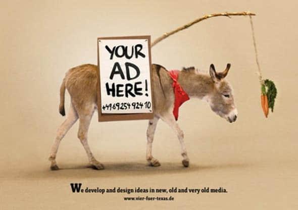 25张神一般的创意平面广告设计欣赏