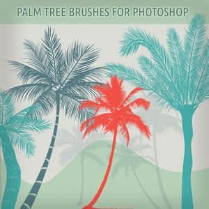 椰子树剪影笔刷