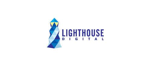 26个以灯塔设计原型的Logo设计方案