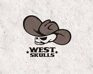 30个骷髅头标识Logo设计