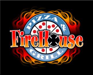 25个食品披萨Logo标识设计