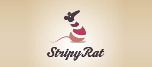 30个小老鼠Logo设计标志欣赏