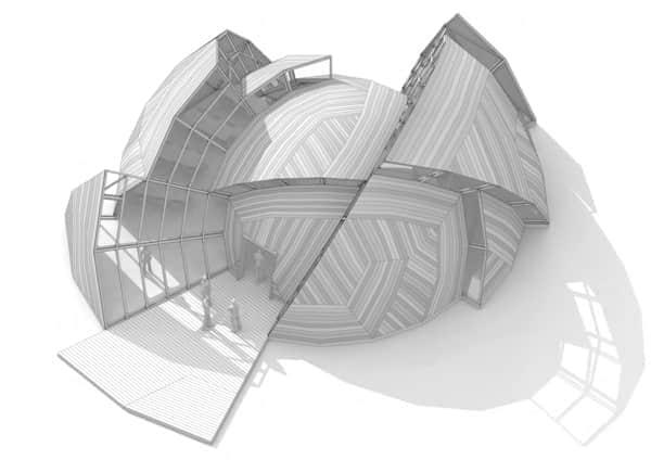 量产化的半圆形会议厅
