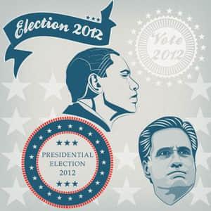 2012年美国总统大选肖像笔刷