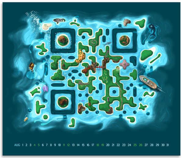 40个特立独行的二维码设计