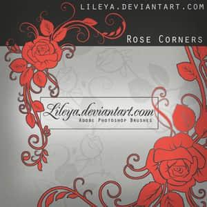 玫瑰印花笔刷
