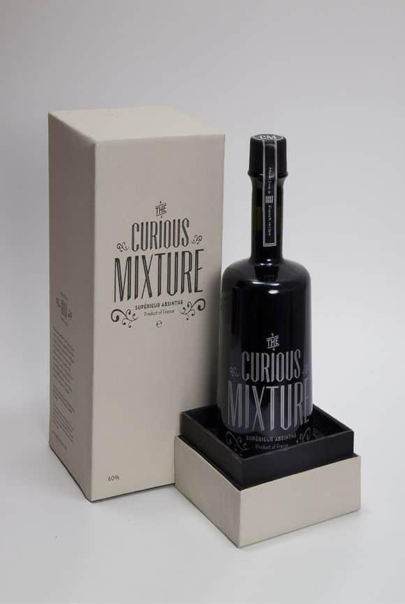 40种酒瓶子与包装设计