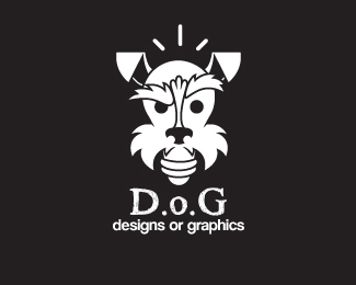 25个卡通式小狗logo标志设计范例