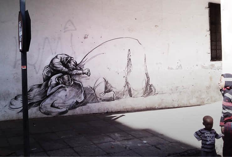 20张最新的街头涂鸦艺术的展现