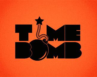 25个炸弹炸药logo设计标志参考