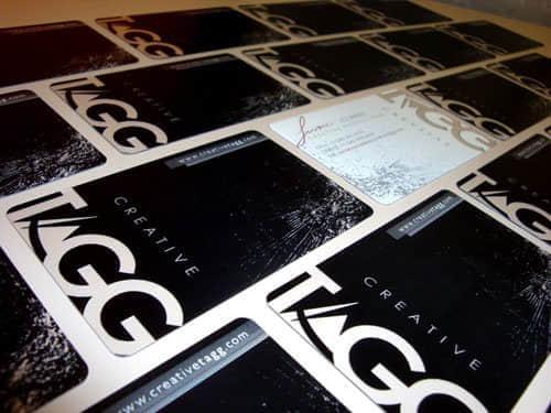 25张酷黑系列风格的名片设计