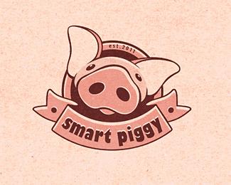 25个独特的小猪猪logo设计 猪猪logo设计 标志设计 Logo设计  logo%e8%ae%be%e8%ae%a1