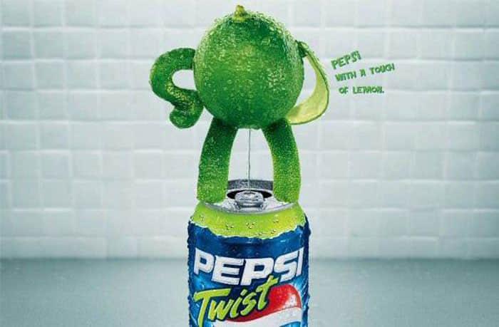 24张可口可乐与百事可乐竞争性平面广告设计