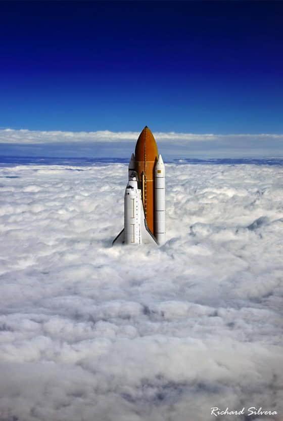 15张气势宏伟的空中云摄影图