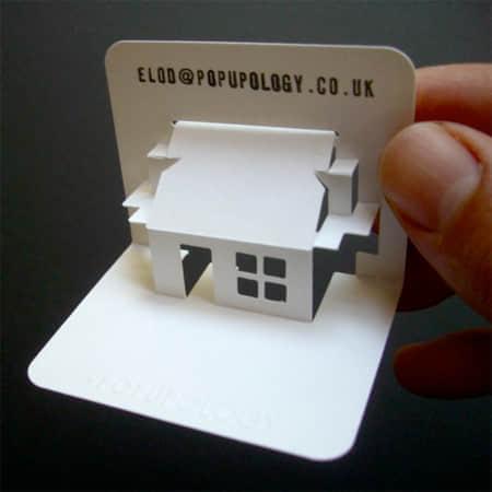 25张立体式3D化平面名片设计