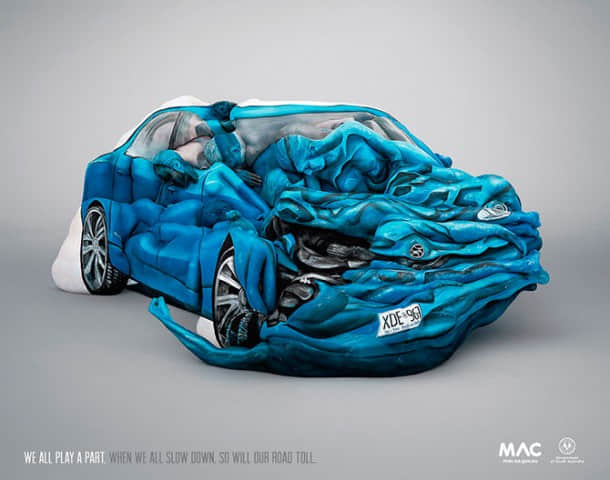 34张创意平面广告设计灵感
