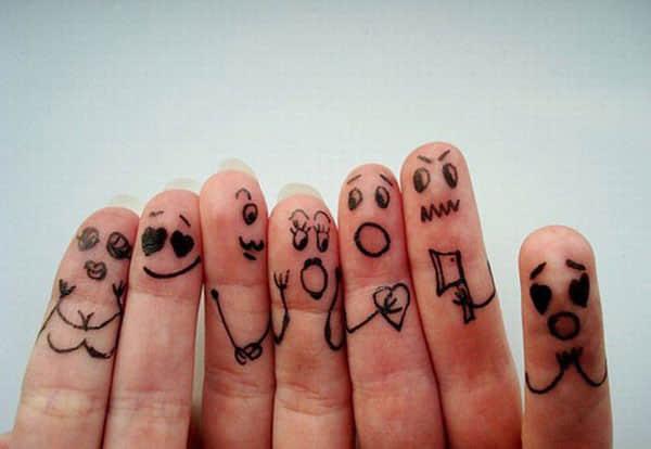 24个拇指涂鸦艺术欣赏