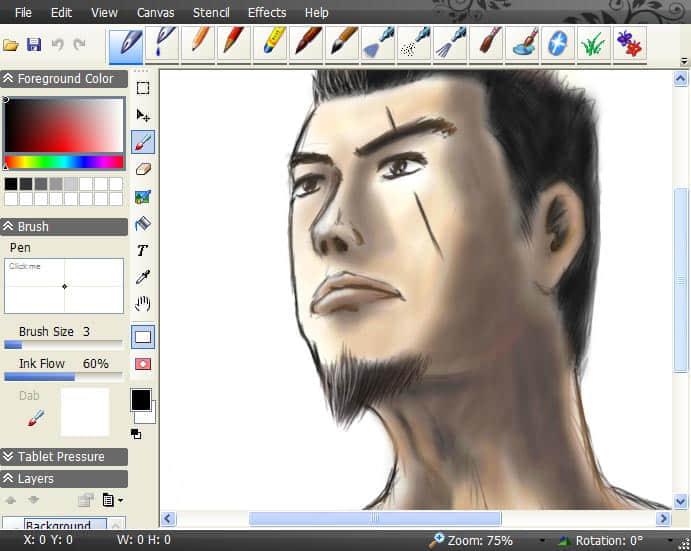 入门级自然绘画软件-SmoothDraw-V3.2.11下载