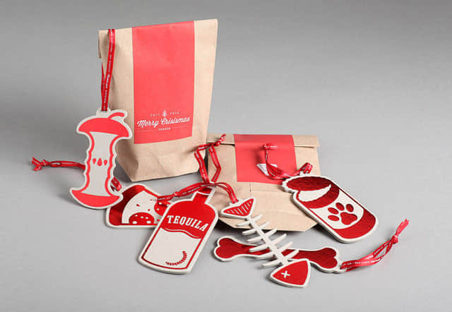 19-christmas packaging design bag